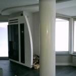 Loft w białym stiuku wapiennym.  Wykonawca Maestro  Decoratore tel.  503157856